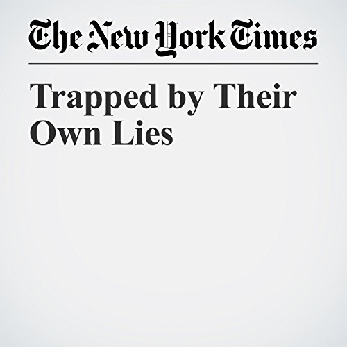 Trapped by Their Own Lies copertina
