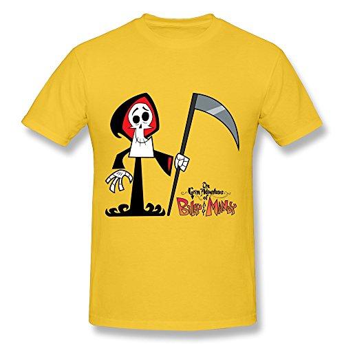 Gerlernt Men's The Grim Adventures of Billy & Mandy T-Shirt