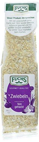 Fuchs Zwiebeln fein gehackt, 4er Pack (4 x 50 g)