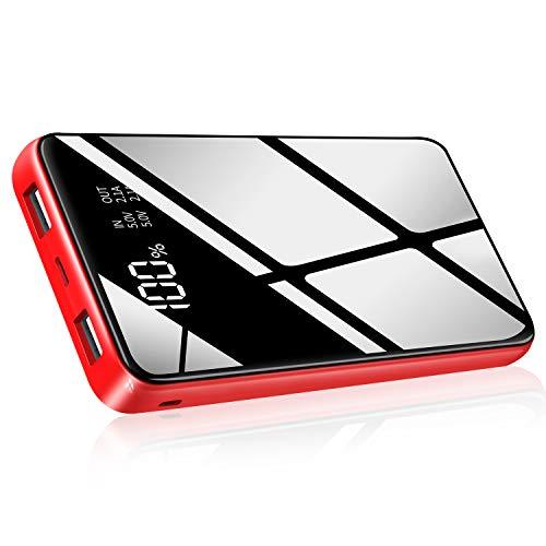 HuaF Batterie Externe 25000mAh Haute Capacité Power Bank Portable Chargeur 2 Ports de USB Sortie avec Affichage Numérique Intelligent...
