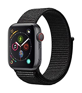 Apple Watch Series 4 (GPS + Cellular, 40mm) - Space Gray Aluminum Case with Black Sport Loop (B07K375ZPN) | Amazon price tracker / tracking, Amazon price history charts, Amazon price watches, Amazon price drop alerts