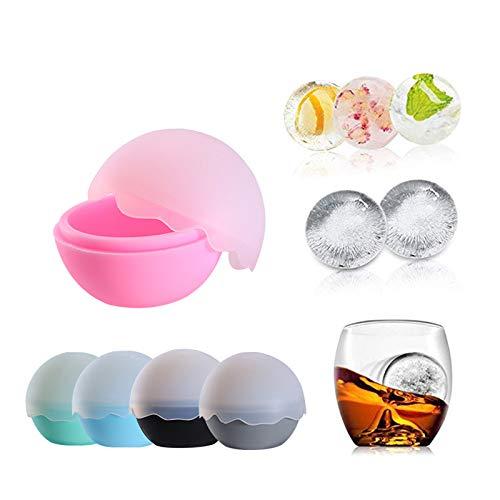 Grote Ice Cube en Ice Ball Maker, BPA Gratis Vormen Sveres jumbo Whisky IJshockey Mold voor Whiskey, Cocktails