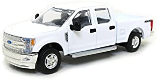 1/64 Ford F-350 Crew Cab, Standard Bed, White, by SpecCast