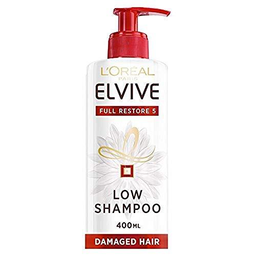 L'Oréal Paris Elvive Full Restore 5 Shampooing Faible Cheveux Abîmés 400 ml