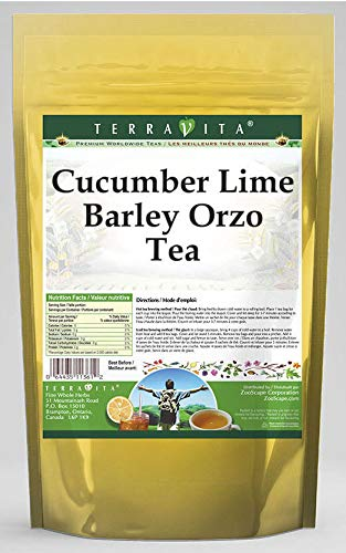 Cucumber Lime Barley Orzo Tea 50 price Max 58% OFF tea bags 3 - ZIN: Pac 562091