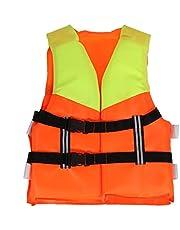 Zwemvest Professionele Kids Life Vest Kinderen Universele Polyester Life Jacket Foam Flotatie Zwemmen Boating Ski Vest Veiligheidsproduct Verstelbare gesp is veiliger
