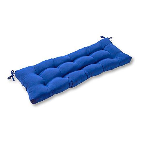 Greendale Home Fashions AZ4805-MARINE Blue 44-inch Outdoor Swing/Bench Cushion