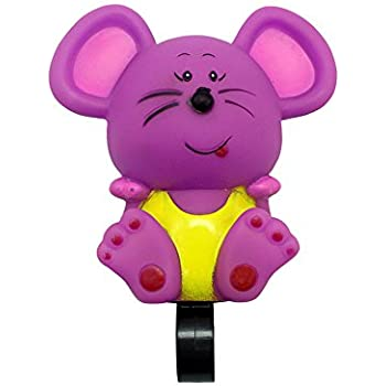 Kids Bike Accessories for Child Purple Handlebar Bicycle Bell for Girls /& Boys Cycmoto Kids Bike Bell with Plastic Flower