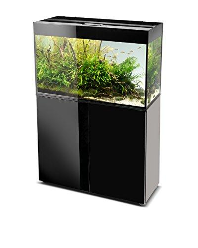 AquaEl Glossy 80 Aquarium LED Noir 2 x 16 W 80 x 35 x 54 cm 125 L