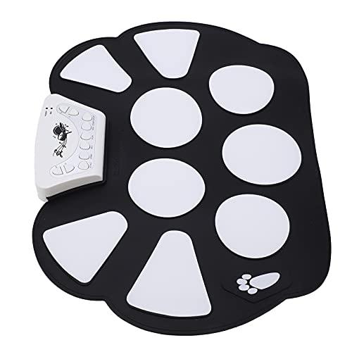 Roll Up Drum Kit, Pad De Práctica De Batería Portátil...