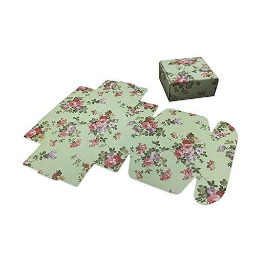 Jia Hu Wiederverwendbare Papier-Geschenktüten mit Griffen, Aufbewahrungstasche, zum Aufstellen, für Einkaufen, Stoff, Party, Medium, Schwarz, 5 Stück