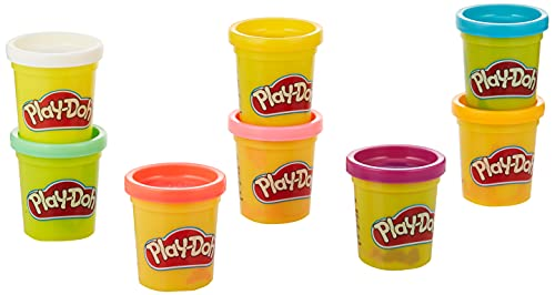 Play-Doh Pack 8 Botes Arcoiris (Hasbro E5062ES0)