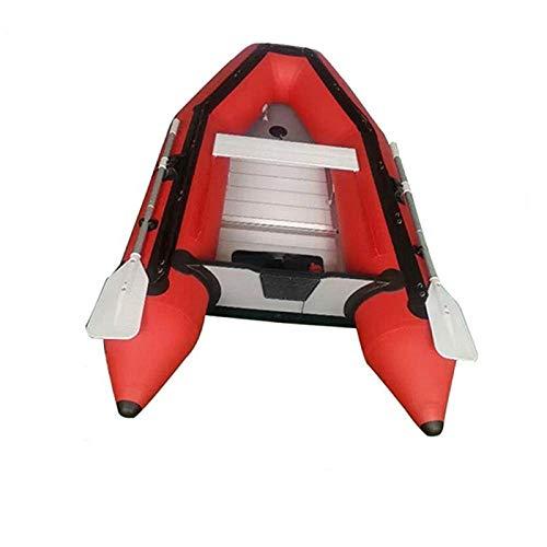 B/H Engrosado Bote Inflable de,Barco de Pesca de Bote de Goma, Barco de Asalto Inflable Engrosado-Red_360 * 175cm,Bote Inflable Balsa de
