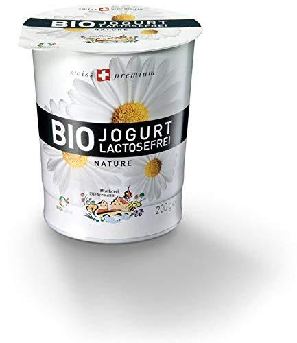 Molkerei Biedermann Bio Bio Jogurt lactosefrei Nature (6 x 200 gr)