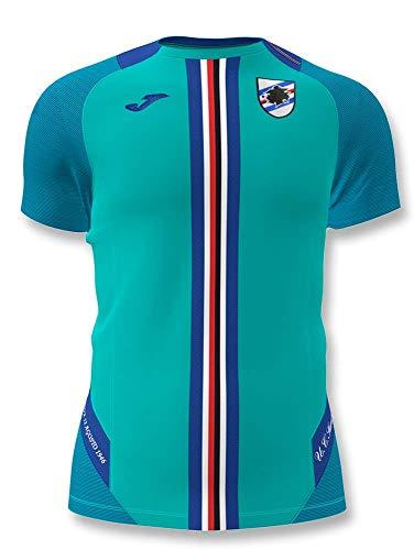 Joma 2019-2020 Sampdoria Training Football Soccer T-Shirt Black