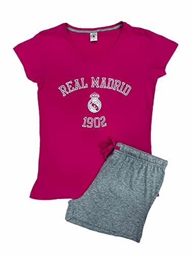 FUTBOL Pijama Rosa Real Madrid Mujer Verano - XL