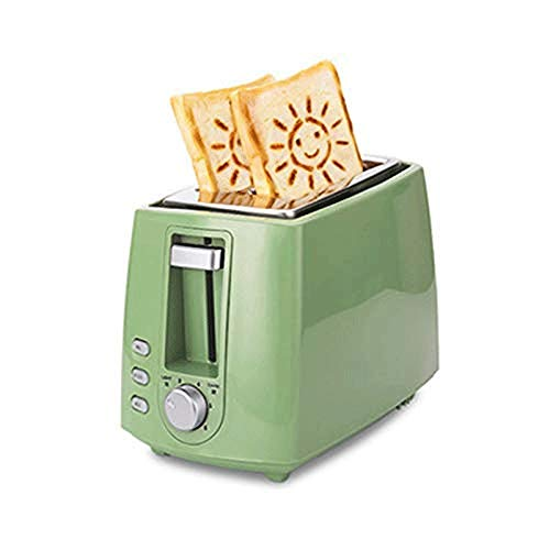 SMX broodrooster thuis kleine ontbijtmachine volautomatische broodrooster 2 broodrooschijven multifunctionele slaap Low Power test