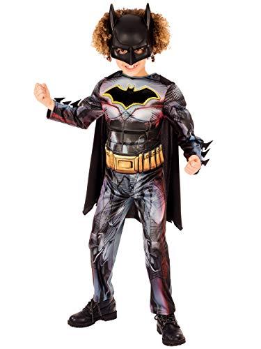 dc comics Garçons Déguisement Batman Multicolore 5-6 ans
