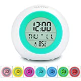 Best Alarm Clocks For Kids - Kids Alarm Clock, DAYOO LED Digital Clock Review