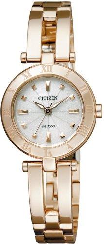[シチズン]CITIZEN 腕時計 wicca ウィッカ Wicca ウィッカ Eco-Drive エコ・ドライブ ハーフバングル C NA15-1573 レディース