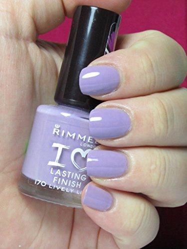RIMMEL VERNIS LASTING FINISH (Lively Lilac N170)