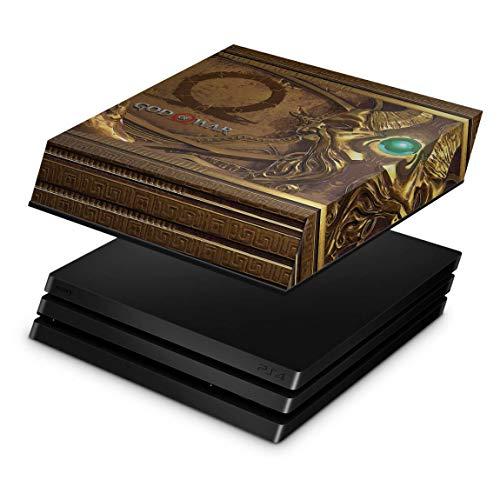 Capa Anti Poeira para PS4 Pro - Pandora's Box God Of War