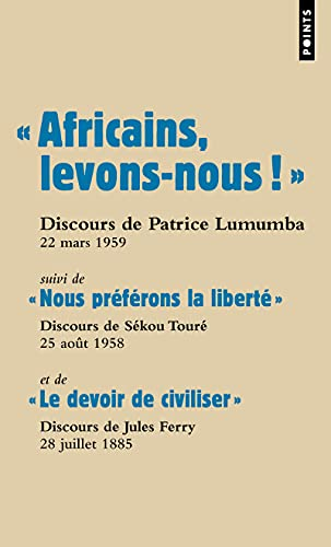 Africains Levons Nous Suivi De Nous Pref