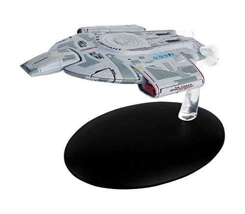 Filmwelt Shop U.S.S. Defiant NX-74205 Eaglemoss Collection Modell - Star Trek die Offizielle Sammlung: Ausgabe #7 mit deutschem Magazin