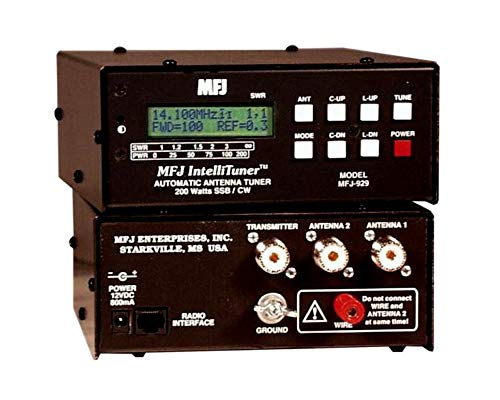 Learn More About MFJ Enterprises Original MFJ-929 1.8-30 MHz Compact 200 Watt IntelliTuner.