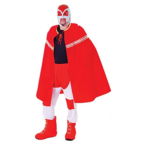 Bristol Novelty AC480 Ringer Kostüm und Maske, Mehrfarbig, 42-44-Inch
