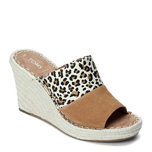 TOMS Women's, Monica Mule Sandal Leopard 9 M