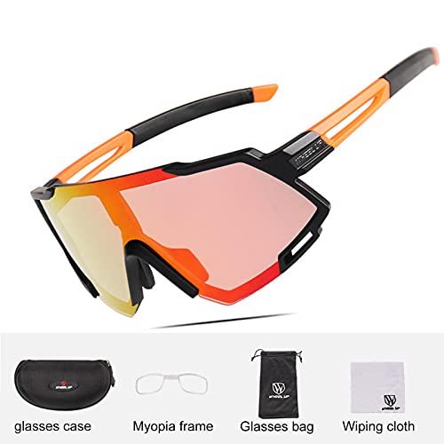 ACJB Gafas de sol deportivas, gafas de ciclismo para hombre y mujer, gafas para béisbol, ciclismo, pesca, correr, conducir