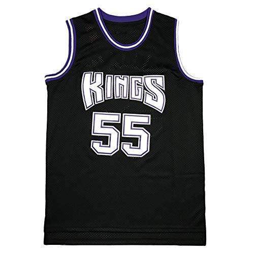 HJSW Jason Williams 55#, Maglia da Basket NBA Uomo, Vintage Swingman Jersey, Maglie Canotta NBA Tuta da Basket Pallacanestro Uniforme, S-XXL, Z254MK (Color : C, Size : S)