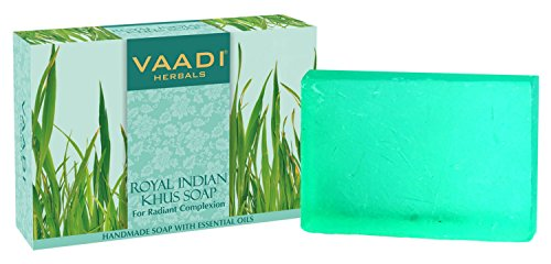 Vaadi Herbals Royal Indian Khus Soap 3x75g