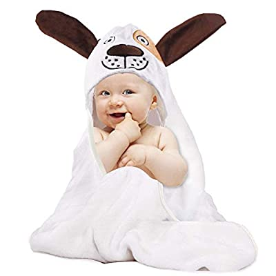 Amazon - Save 70%: Bamboo Baby Hooded Towel – Ultra Soft Organic Baby Bath Towel – Ultra A…