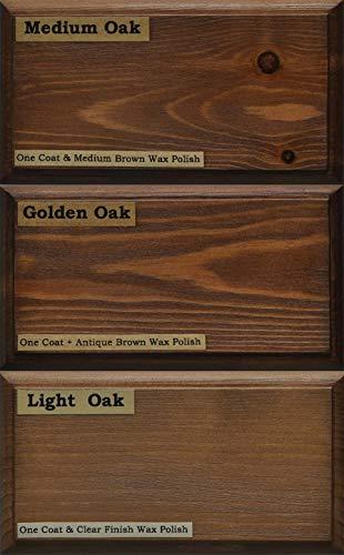 Littlefair's, Holzfarbe, umweltfreundlich und auf Wasserbasis - klassisches Sortiment, Shades of Oak Collection, Tester Pot