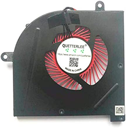 QUETTERLEE Replacement CPU Cooling Fan Compatible MSI GS63 GS63VR GS73 GS73VR GS62 MS-17B1 MS-17B2 MS-16K2 MS-16K3 Stealth Pro BS5005HS-U2F1 Fan