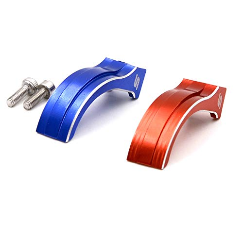 Parts & Accessories Throttle Trigger Arm Brake Rod for Futaba 7PX 4PX 4PXR RC Car Transmitter B Radio RC Car - (Color: RED Blue Each ONE)