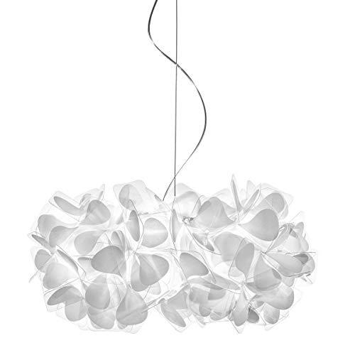Clizia Mama non Mama Kunststoff Hängeleuchte Modern Slamp weiß | Handgefertigt in Italien | Pendelleuchte Modern Design Dimmbar | Lampe E27 CLI78SOST000MN000