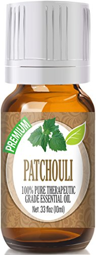 Healing Solutions Patchouli Essential Oil - 100% Pure Therapeutic Grade Patchouli Oil - 10ml