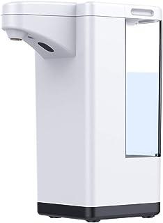 自動アルコールディスペンサー 600ml 大容量 アルコール噴霧器 非接触式ハンドスプレー 電池式 アルコール 施設・学校などに適用 日本語説明書付き 1年の保証期間付き