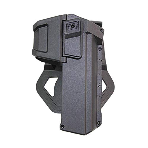 BGJ Fondine tattiche per Pistola Softair per Glock 17 18 con Torcia o Fondina montata al Laser Fondina per Pistola a Vita Destra