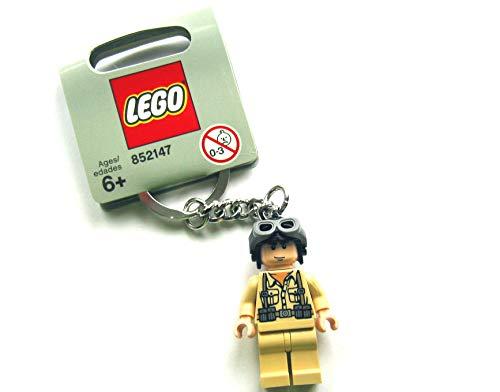 LEGO Indiana Jones–Porte-clés avec Bonhomme de Pilote