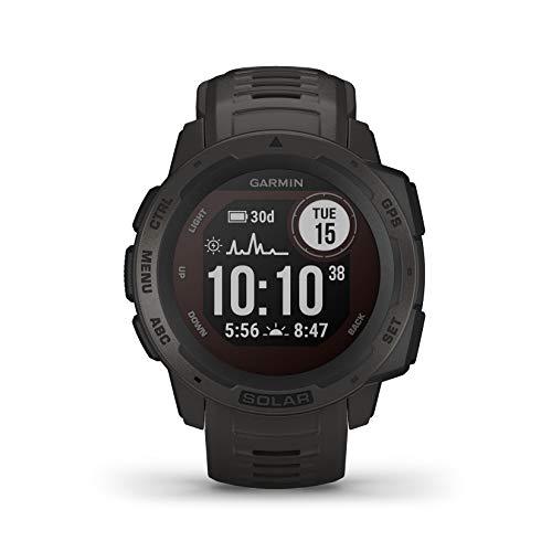 Garmin Instinct Solar, Reloj GPS resistente con carga solar - Grafito