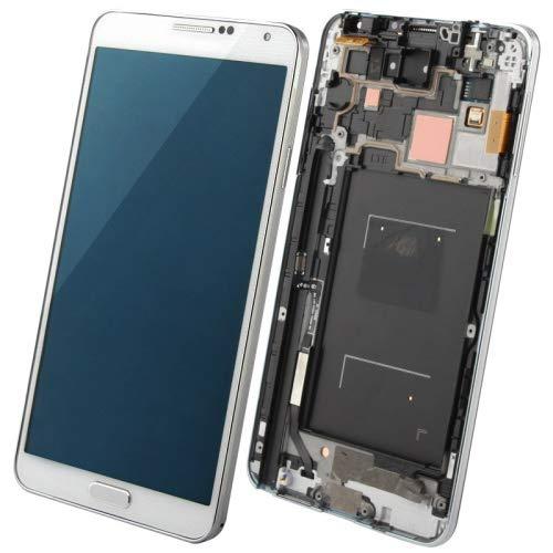 JIANGGALAY para repuestos Galaxy 3 en 1 LCD Marco Pantalla táctil for Samsung Galaxy Note III / N9005, 4G LTE (Color : Blanco)