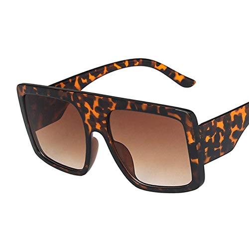 Sunglasses Gafas de Sol de Moda Moda Gafas De Sol Grandes Mujeres Hombres Punk Grueso Rosa Cuadrado Gafas De Sol De Gran