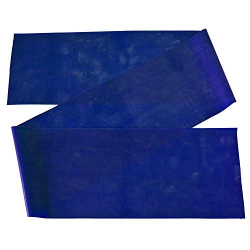 Thera-Band, 150 cm x 12,8 cm, extra stark, blau, Widerstandsband, Fitnessband