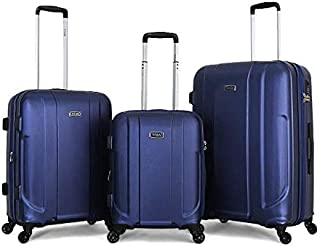 Titan hardside Spinner Luggage set of 3 pieces with 3 digit number lock