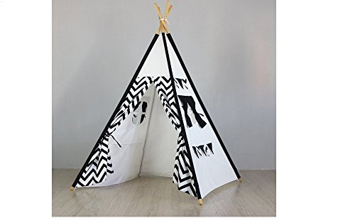 Matissa Children's Indian Teepee Tent Play Tent Indoor Camping Playhouse and Acc