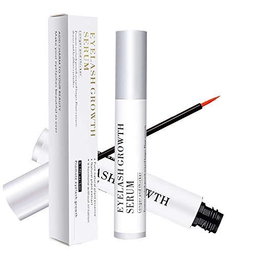 Eyelash Growth Serum - Natural Lash & Eyebrow Enhancer - for Extension, Thickness, Strength - 5ml